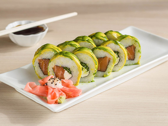 Avocado sake roll