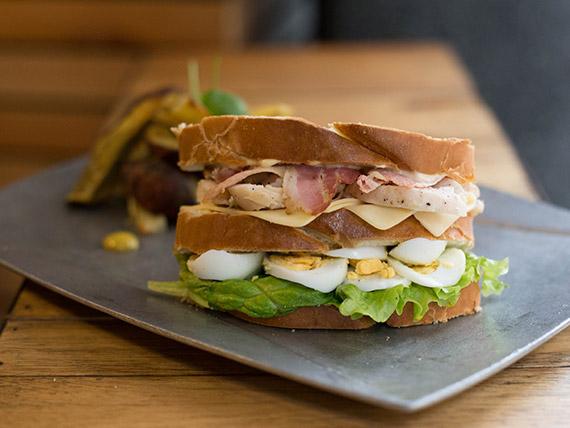 Sándwich pollo SK8