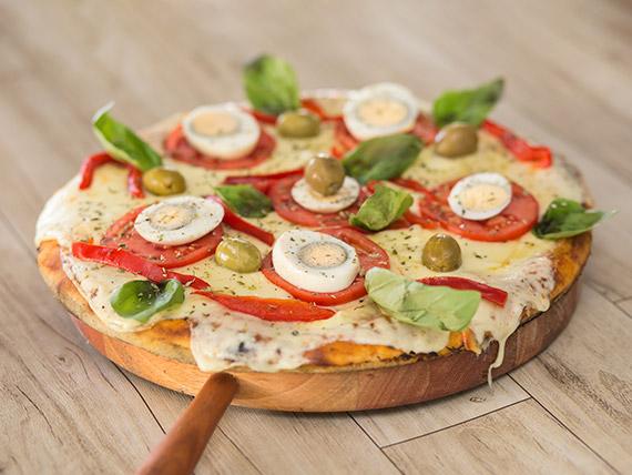 Pizzeta grande con gustos