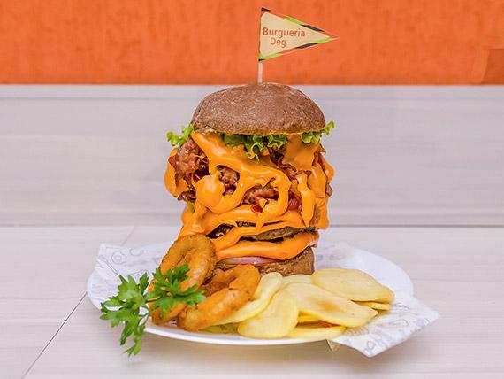 6 - Burger artesanal extreme