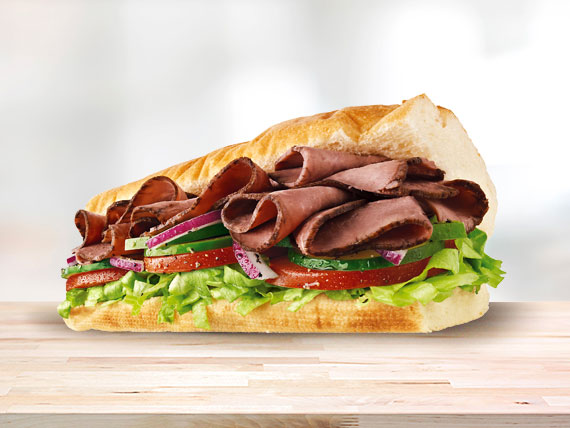 Subway roast beef (15 cm)