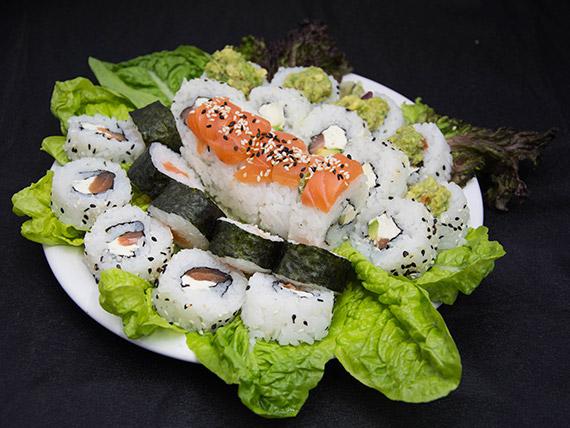 Combo de salmón (45 piezas)