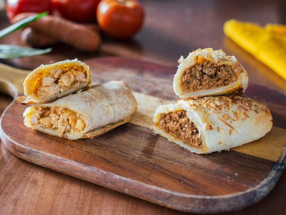 Promo - Burrito a elección + refresco