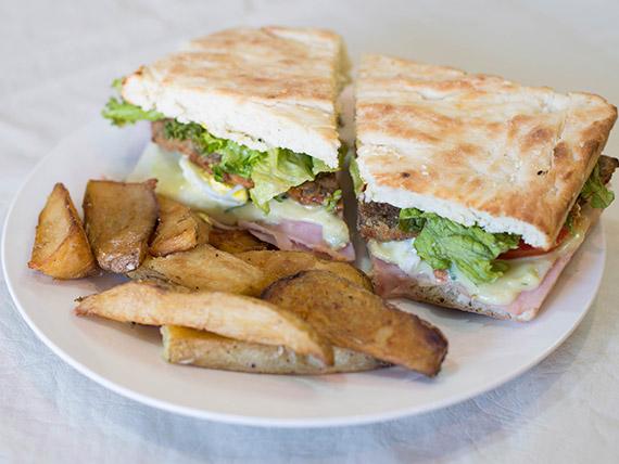 Sándwich de milanesa (grande)