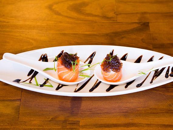 Sushi especial joy cebola camarelizada (8 peças)