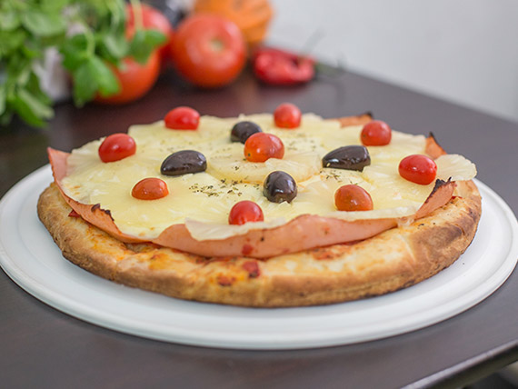 Pizza de ananá