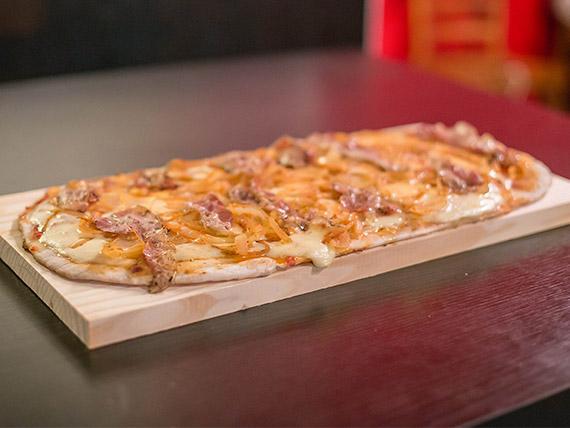 Pizza montevideana