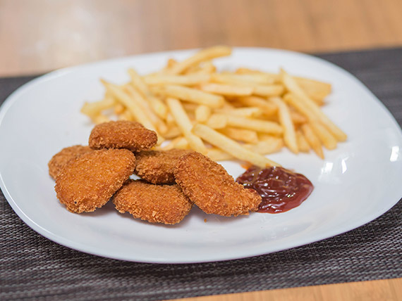 Nuggets de pollo kids (6 unidades)