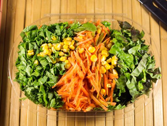 Ensalada radicheta, lechuga y zanahoria (3 personas)