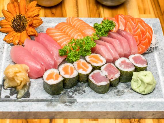 Combinado salmão  (24 peças)