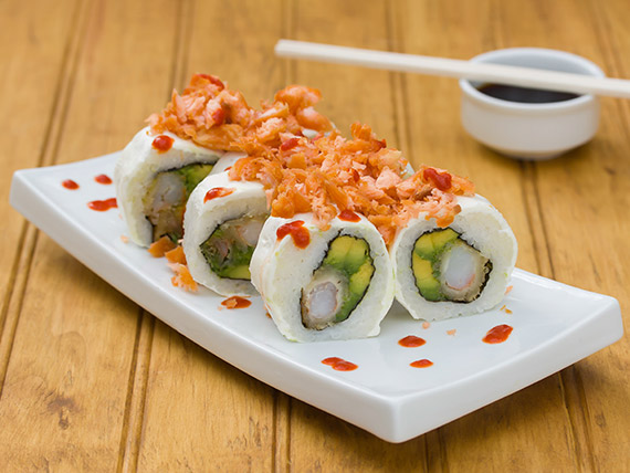 Cheese tempura roll