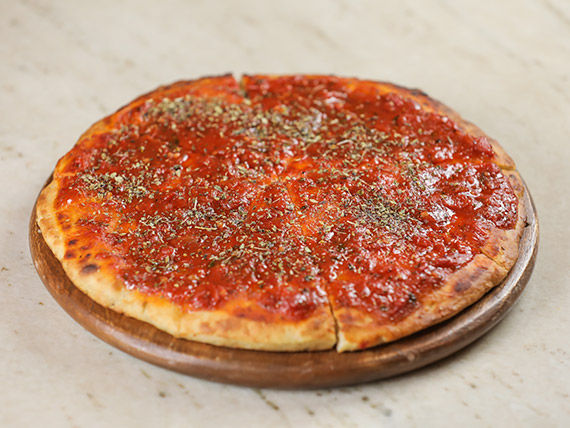 Pizzeta a la salsa