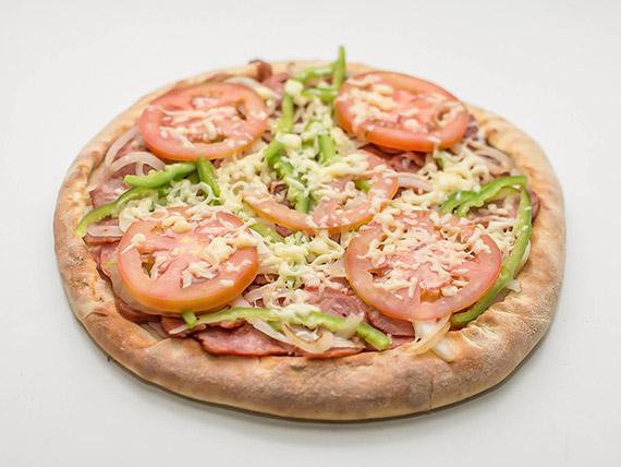 Pizza portuguesa grande