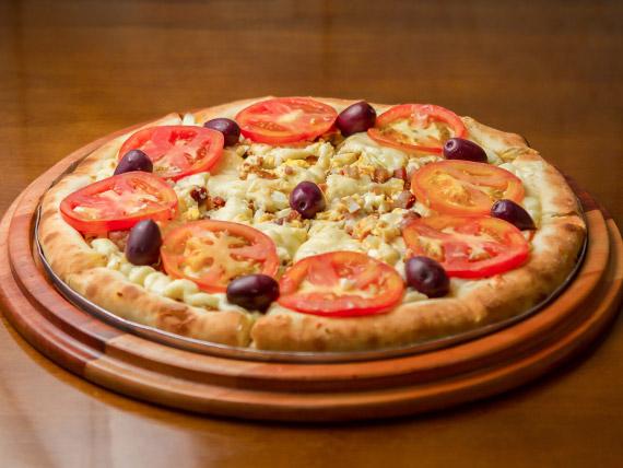 Pizza árabe especial