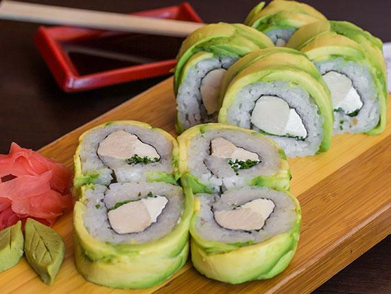 Teriyaki roll (8 cortes)