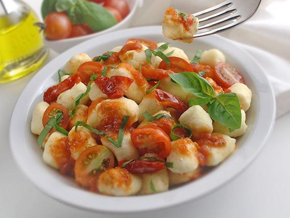Gnocchi di patate alla rucola