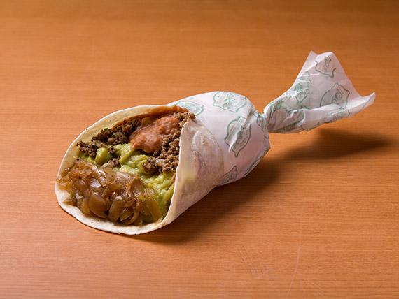 Burrito carnita guapa