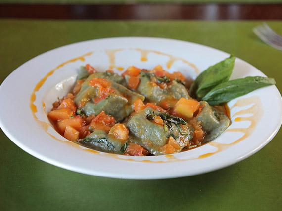 Raviolones de verduras