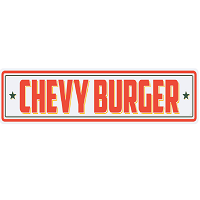 Chevy Burger Food Truck