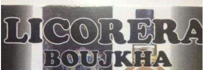 Licorera Boujkha