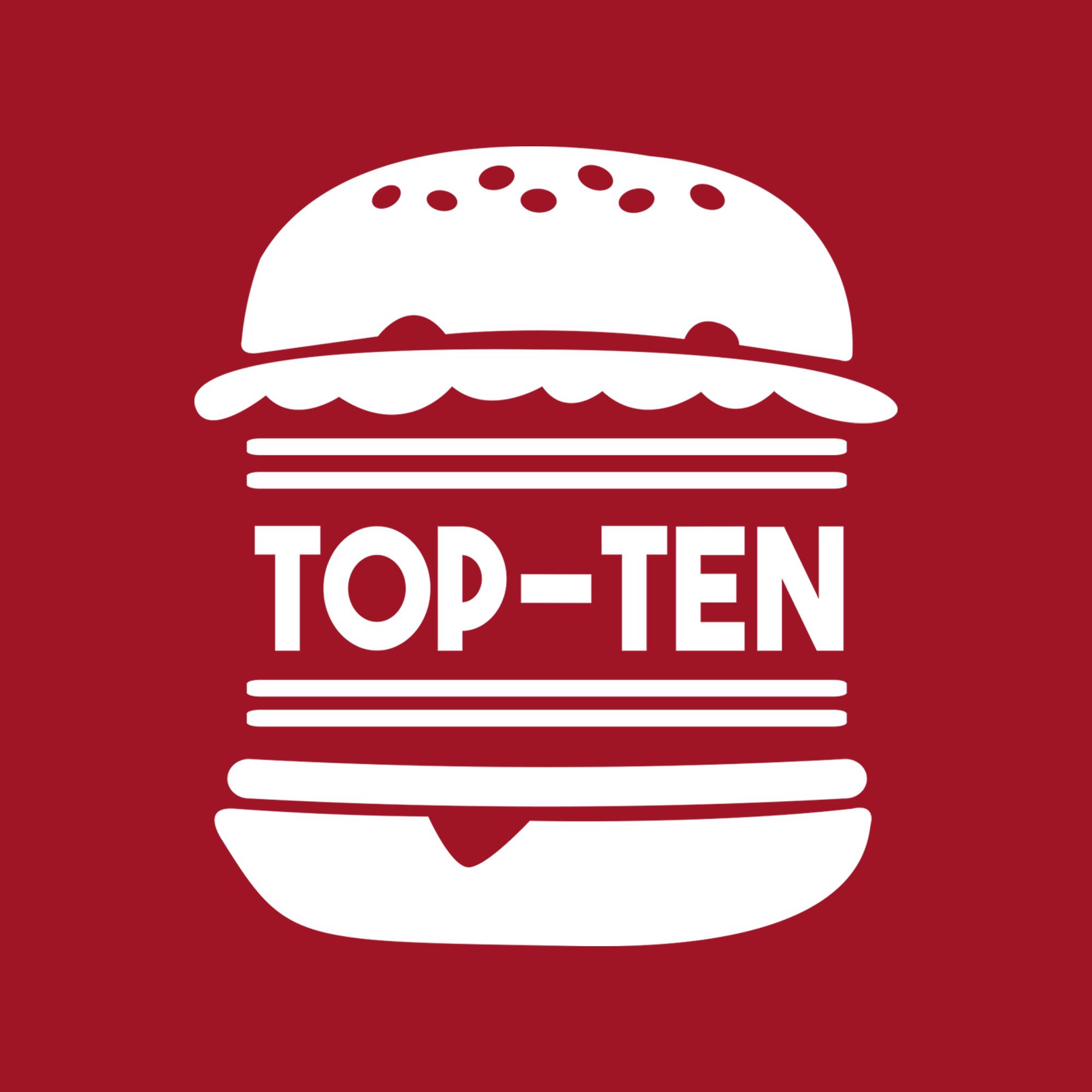 Top Ten Burgers Fries