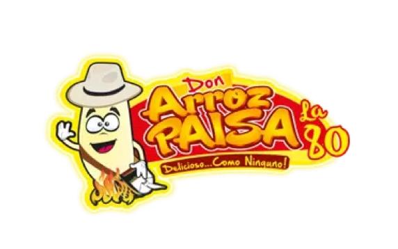 Don Arroz Paisa la 80