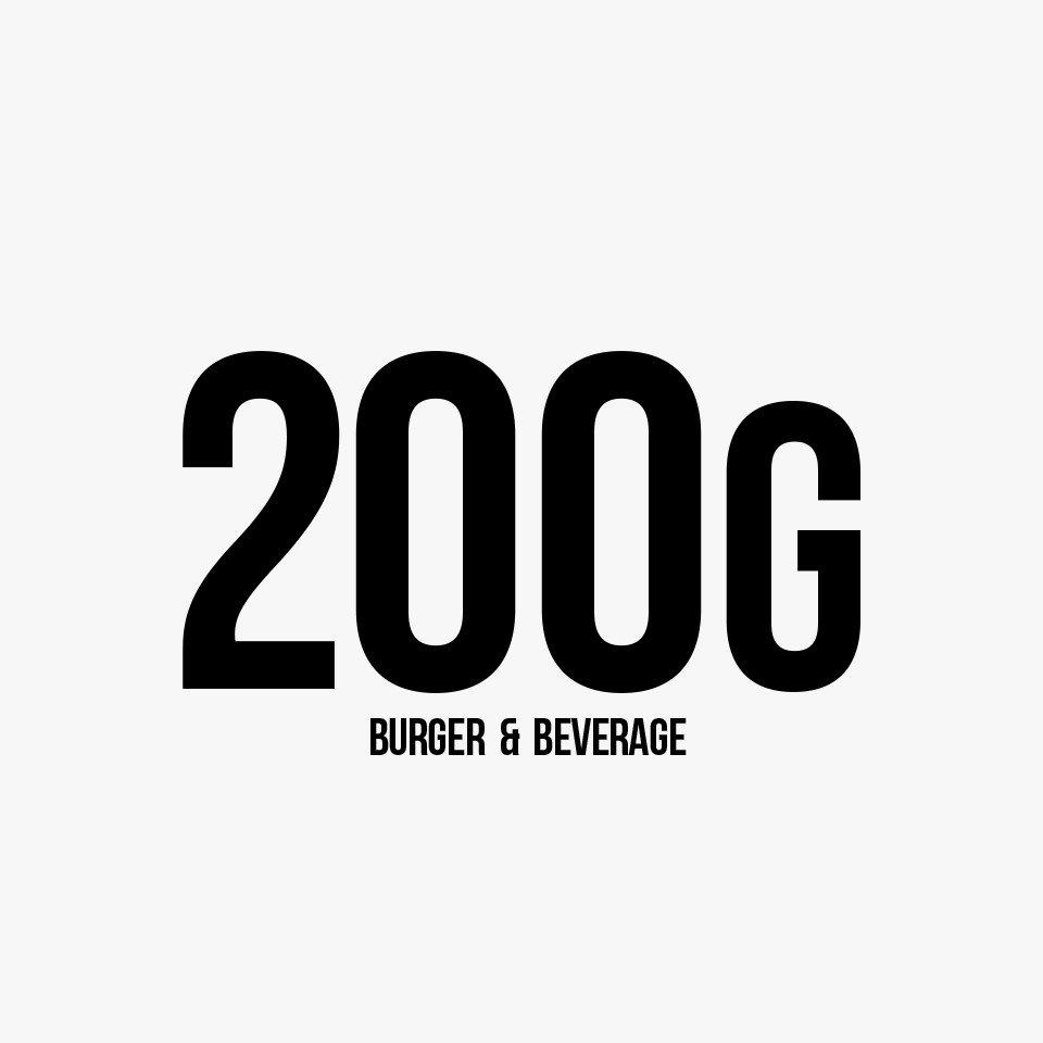 200 G Burger & Beverage