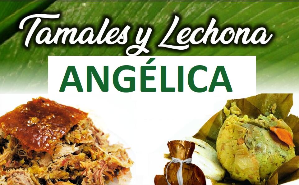 Tamales y Lechona Angélica