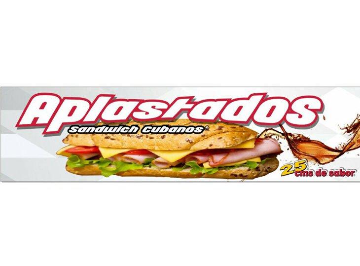 Sandwich Aplastados Cubanos