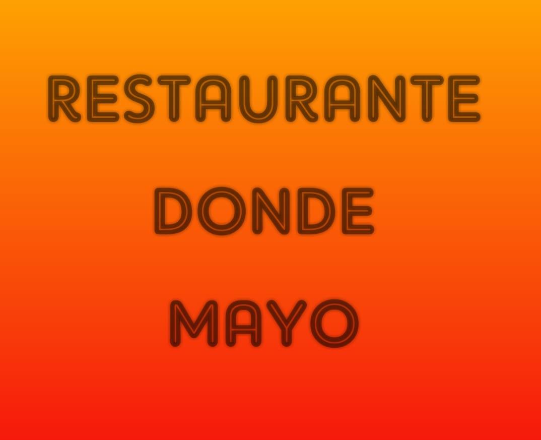 Restaurante Donde Mayo