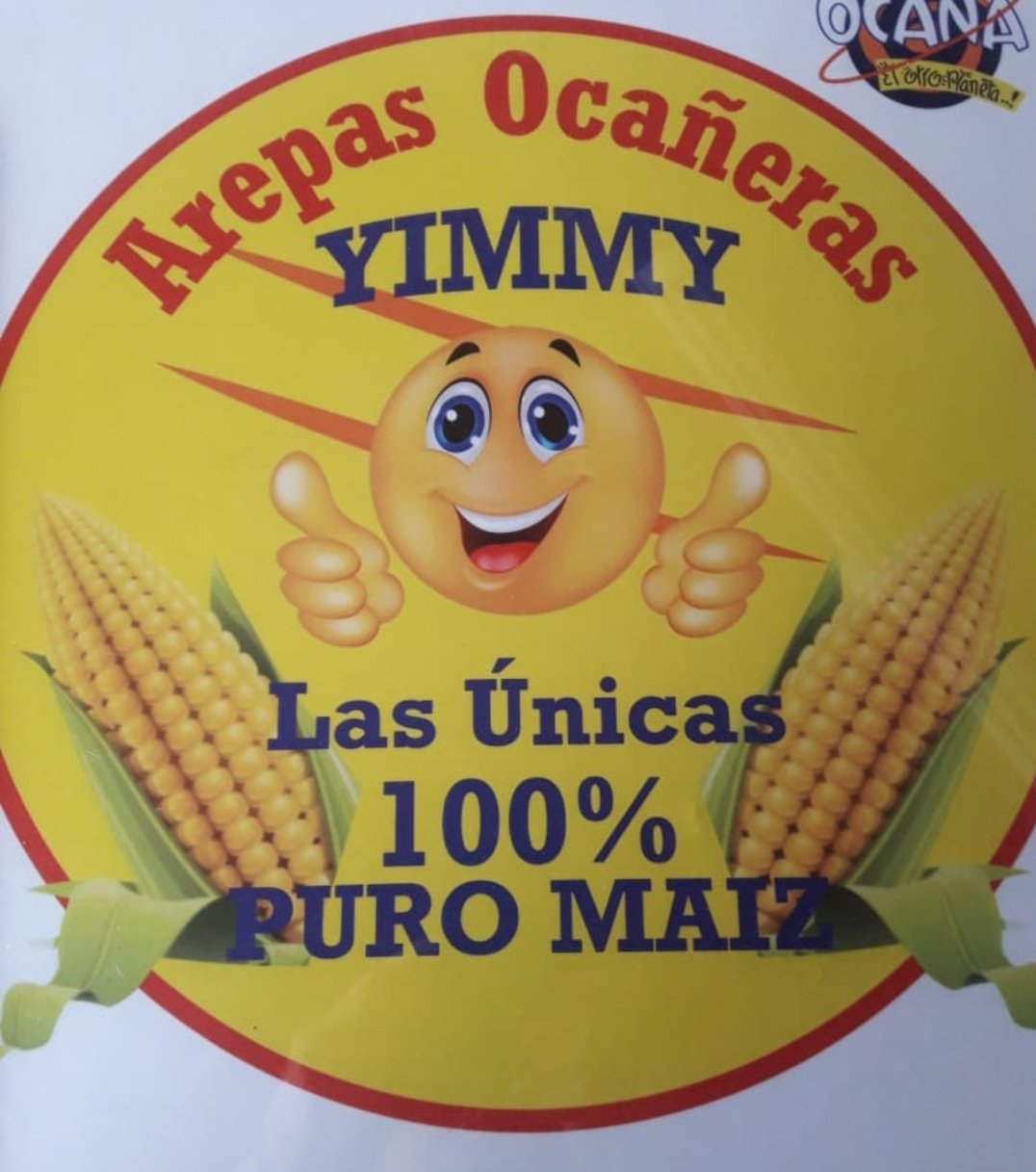 Arepas Ocañeras 100% de Maíz Donde Yimmy