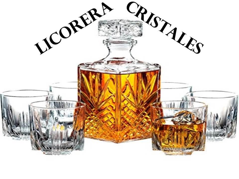 Licorera Cristales