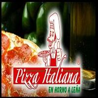 Pizza Italiana en Horno a Leña