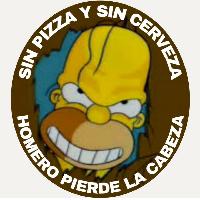Sin Pizza Y Sin Cerveza Homero Pierde La Cabeza